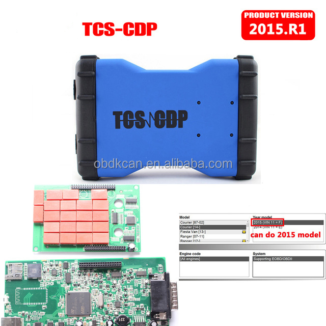 2017 New TCS CDP PRO Scanner V2015.01 Can Test CAR&TRUCK TCS CDP Pro Plus Diagnostic Tool