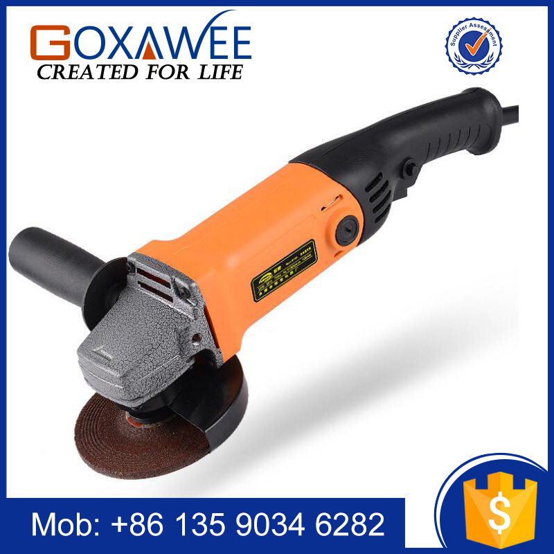 Goxawee Home Application Power Tool 750W Electric Mini China Angle Grinder