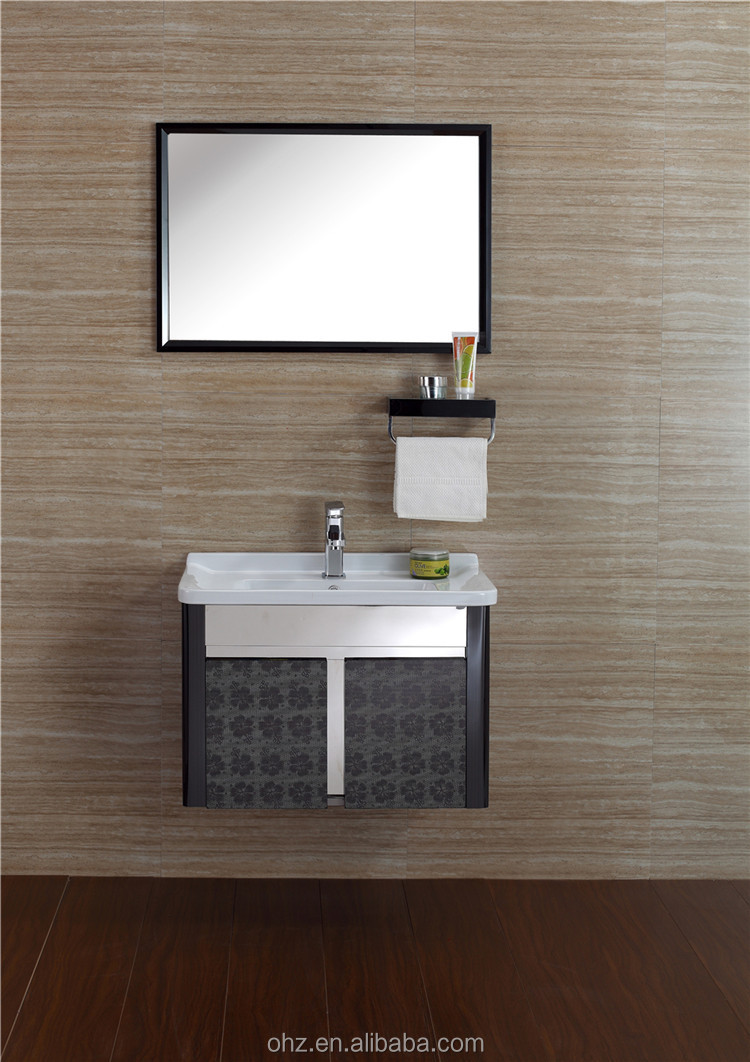 High End Market Single Sink Used Bathroom Vanity Cabinets