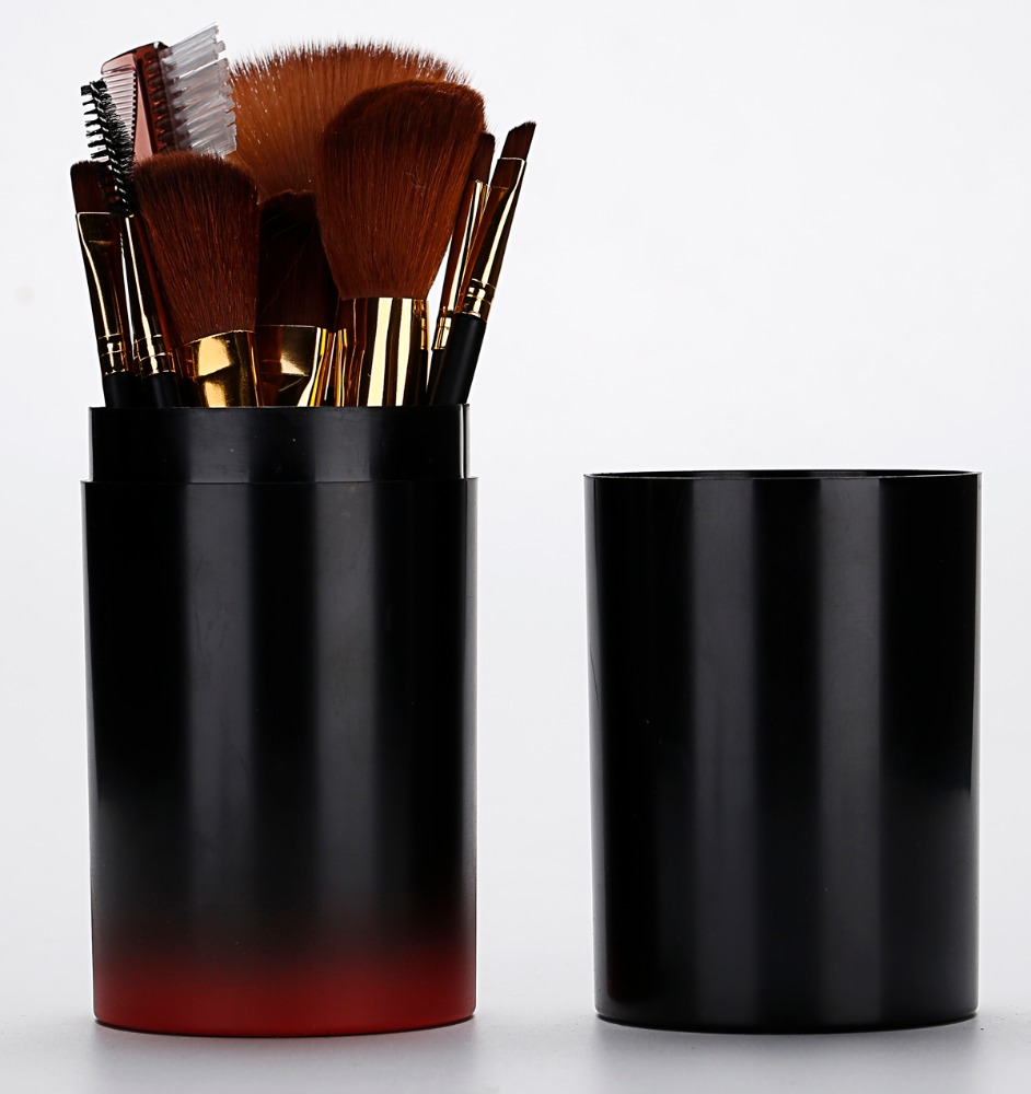 Private label synthetic hair makeup brush set ,professional cosmetic makeup brushes set