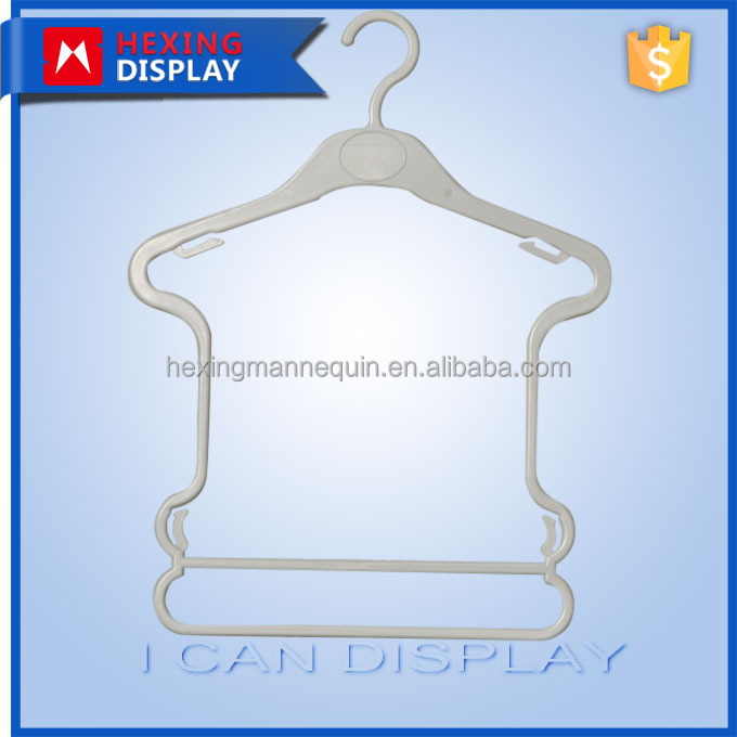 Frame And Conjoined Plastic Kids Clothes Hangers Wholesale
