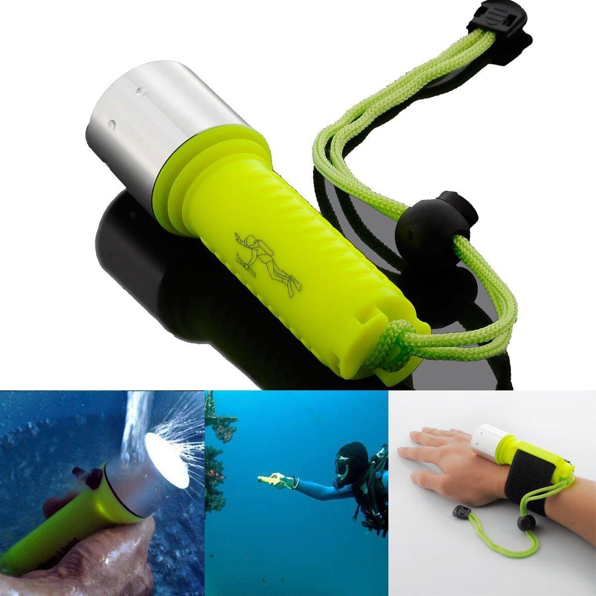 Flashlight torch cree CREE XM-L T6 Underwater 2000LM LED Scuba Diving Flashlight Torch Lamp 60Ms tactical flashlight