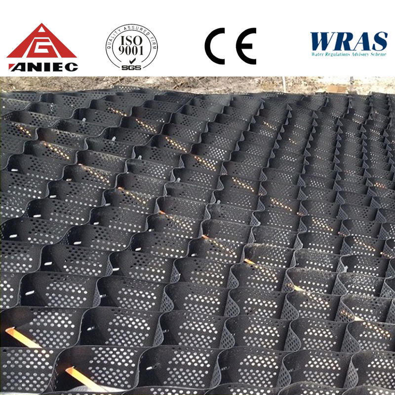 geocell/geogrids GC200 Used For Anti-landslides Rescue Work