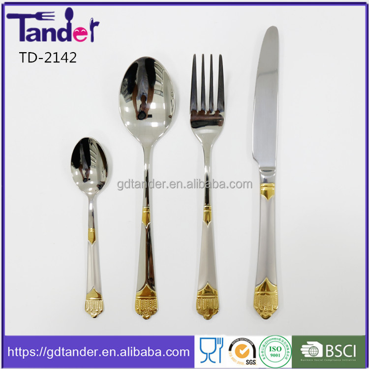 2016 Tander whole year selling well all over the world cutlery for buffet