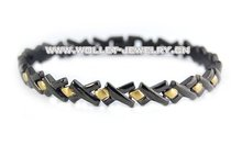 fashion jewelry(titanium magnetic jewelry germanium bracelet)