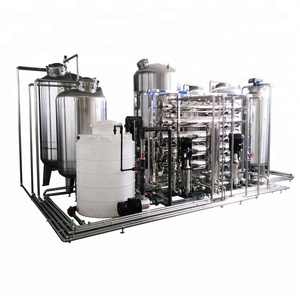 SS316L RO Purified Ultra Pure Water Filtration System for Pharmacy