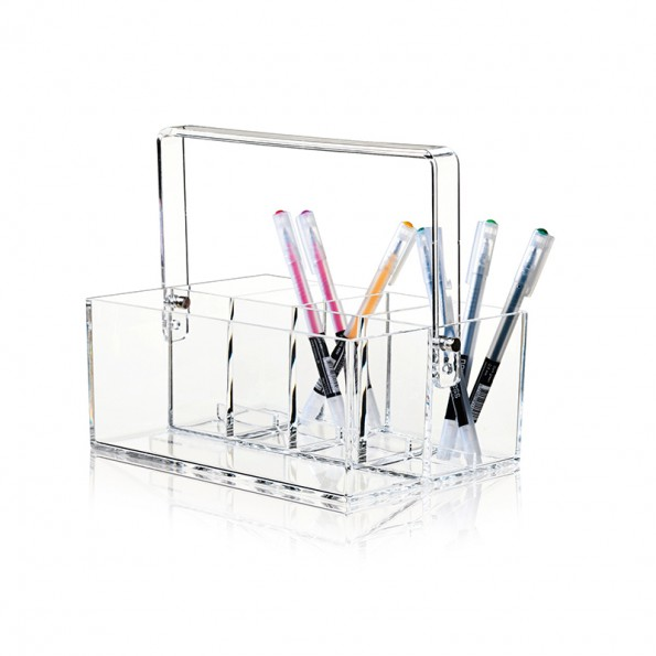 Clear Acrylic Makeup Tool Box