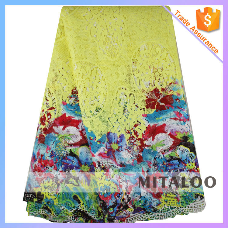 Mitaloo African Double Organza Lace With Sequins And Stone Lace ...