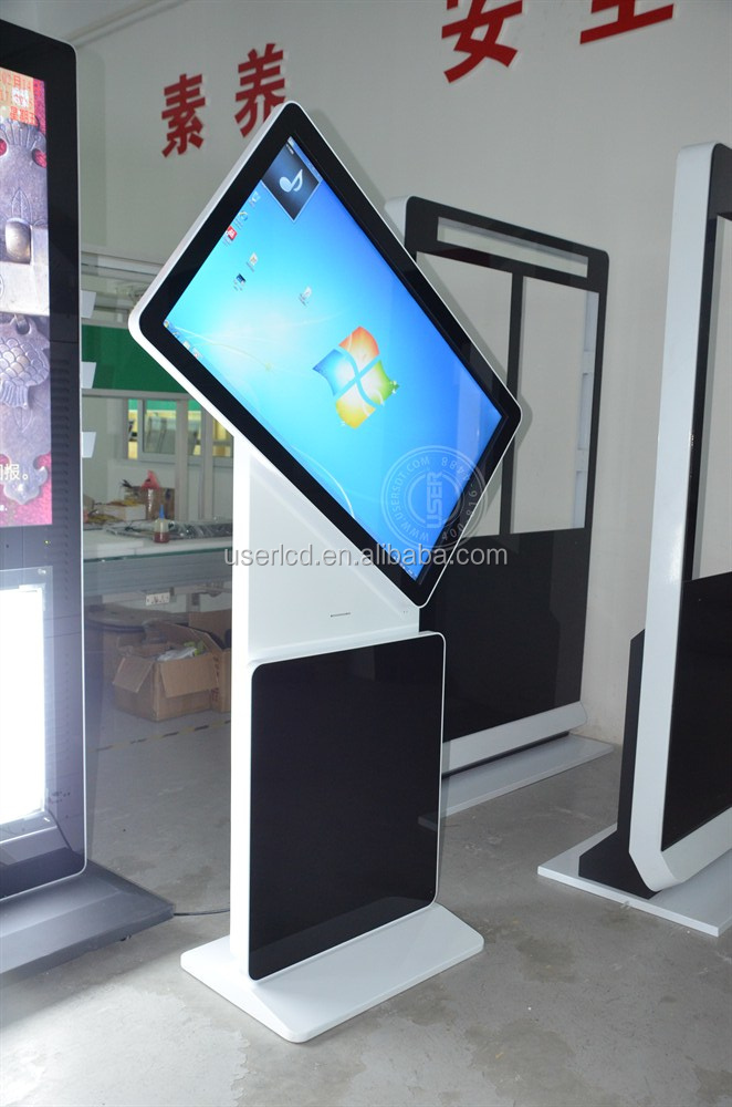 Rotate All In One Pc Touch Screen/advertising Display/digital ...