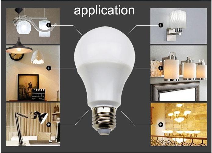 Dimmable E26 E27 6w 8w 10w 12w Soft White Light Bulb Vs Daylight ...