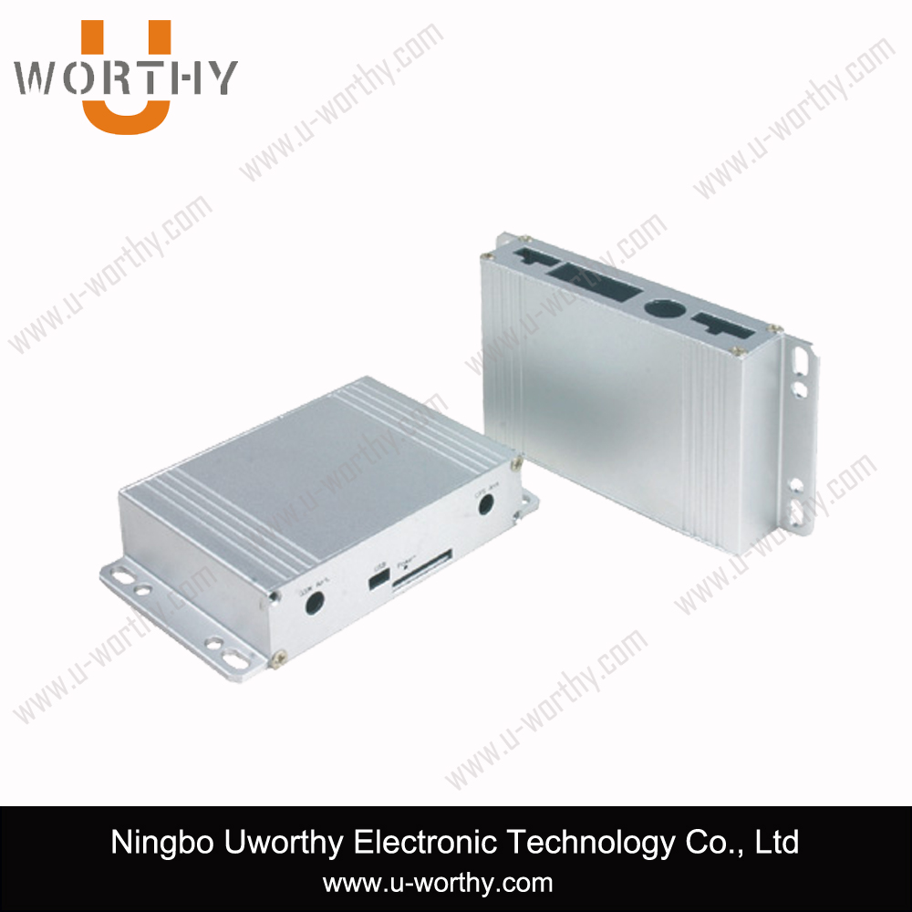 Aluminum Electronic Heatsink Enclosure for Controller and Charger with Cover Plates
