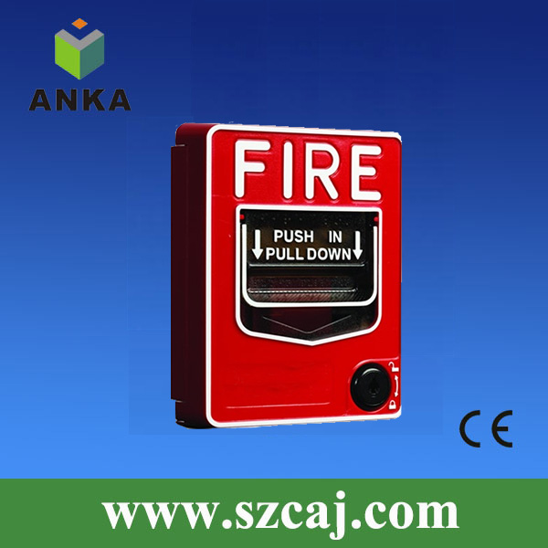 supermarket fire alarm 2 wire panic manual call point push button