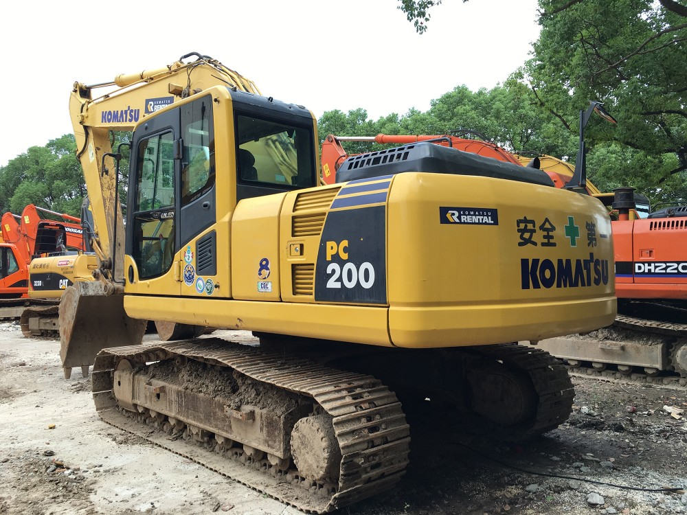 1800h low working hour used pc200 excavator PC200-8, used komasu pc 200  excavator for sale, View price new komasu pc200 excavator, Komasu Product