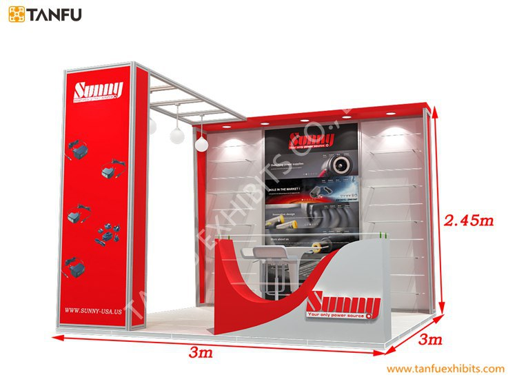3x3 Exhibition Stand : Tanfu exhibition booth display for trade show buy