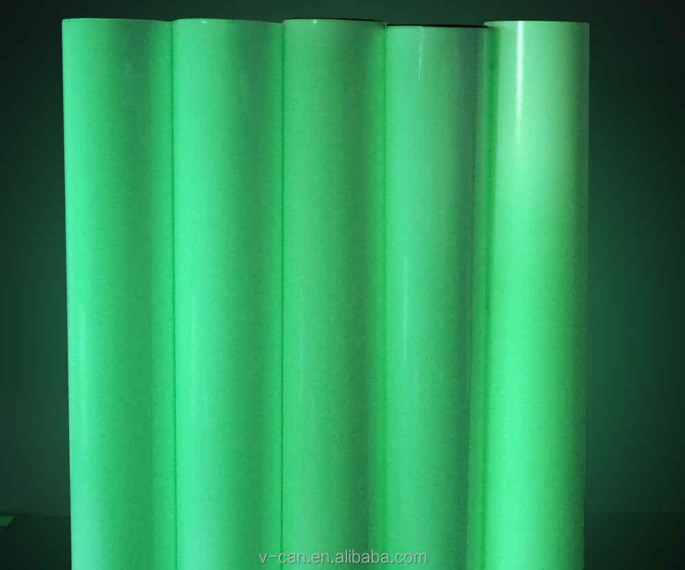 Magical Glowing Fabric,Photoluminescent Fabric,Green Glowing Color ...