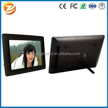 Loop Video Playing 8 Inch Digital Photo Frame With Remote - Buy 8 ...