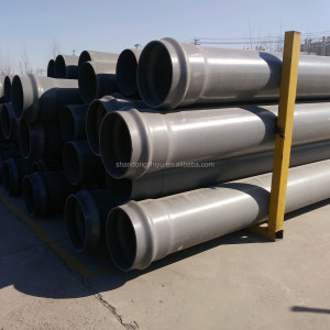 Factory price underground water well pvc upvc water pipes for water supply