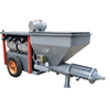 electric or diesel power spraying pump machine the wall plastering cement mortar machine
