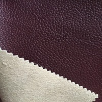 Leather high quality microfiber leather for shoes