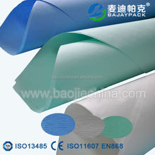 Sterile wraps paper for medical packaging