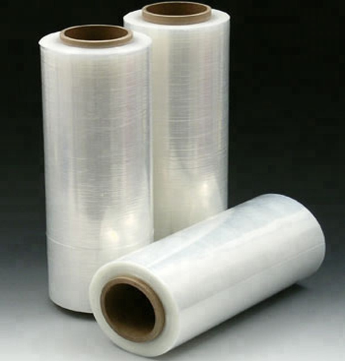 LLDPE Shrink Wrap Stretch Film Involucro di Plastica-Forza Industriale A Mano Stretch Wrap