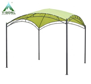 International Caravan Kits Steel/ Polyester Fabric Square Dome-top Gazebo