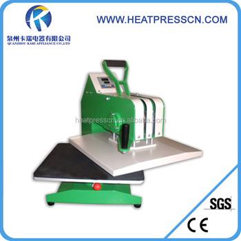 Sublimation heat press machinery t shirt printing machines for Sublimation t shirt printing companies