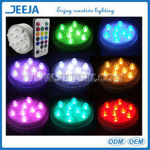 3v waterproof round shape remote controlled led light christmas decoration/home decoration