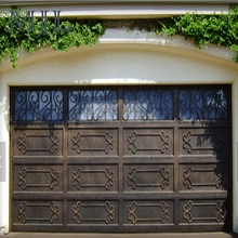 Safely Automatic Open Style Cheap Price Anti-Theft Customized Sectional Steel Garage Door