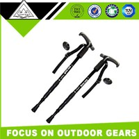 Outdoor Skiing Retractable Shock Absorption Hiking Pole