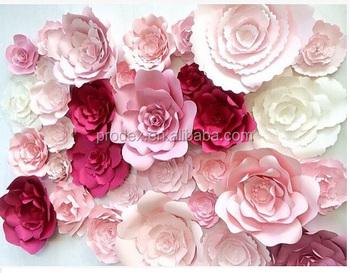 2018 hot selling giant paper flowers wall wedding flowers buy 2018 hot selling giant paper flowers wall wedding flowers mightylinksfo