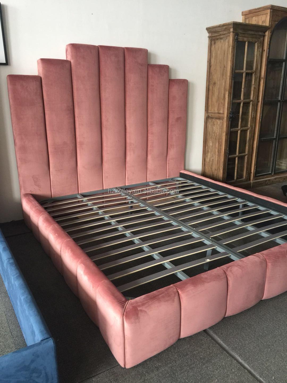 Toptan Fiyat Ahşap Amerikan Tarzı Yatak Odası Takımları Mobilya king-size yatak