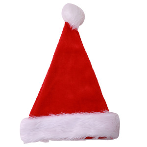 CYSHMILY 2018 Merry Christmas Good Quality Super Plus Big Ball Plush Christmas Hats