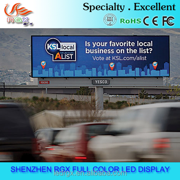P8 P10 led advertising screen vedio screen outdoor