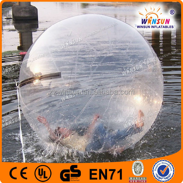 Giant Transparent Inflatable wave runner ball hamsters