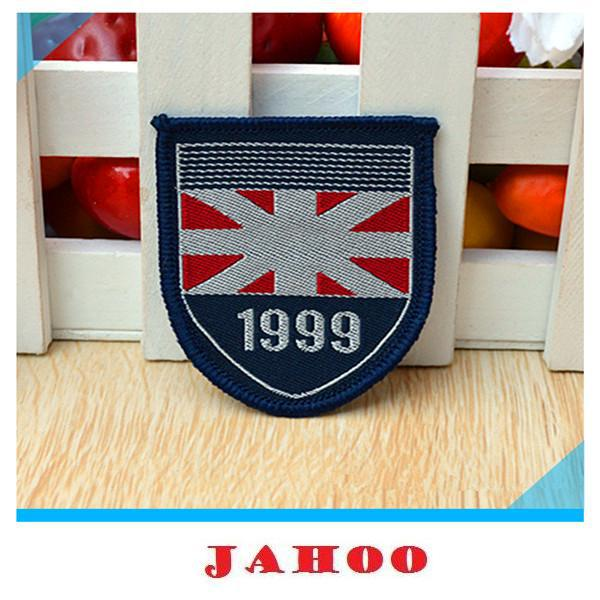 Factory Directly Cheap Clothing Woven Badges For Bags