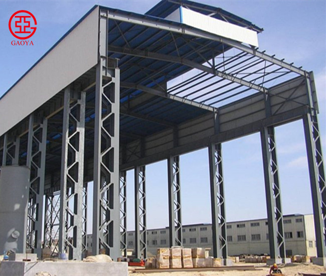 China Design Prefabricated Long-span Steel Structure Building/Workshop for Sale