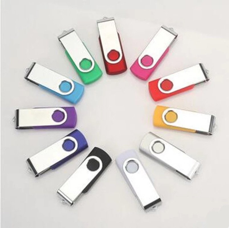 Bulk buy from china 8GB/16GB/32 GB/ 64 GB/ 128 GB micro Swivel USB 2.0 Flash Drive