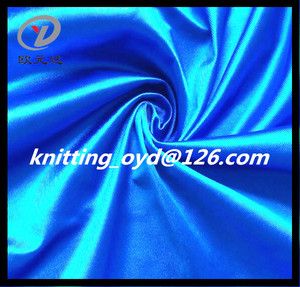 Mexico Textile Polyester Tricot Dazzle Fabric For Summer Sportswear