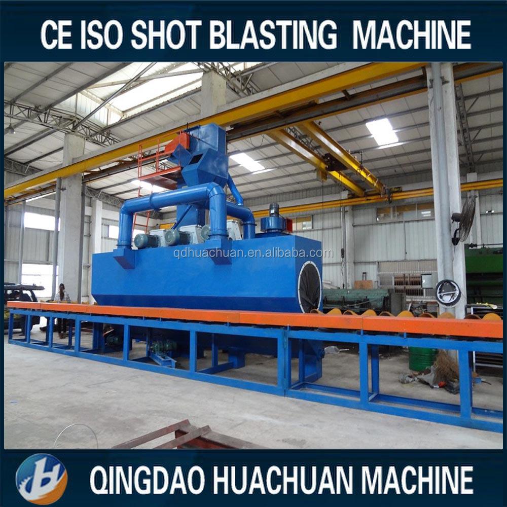 Steel Pipe Shot Blasting Machine,Pipe Sandblasting Machine -8590