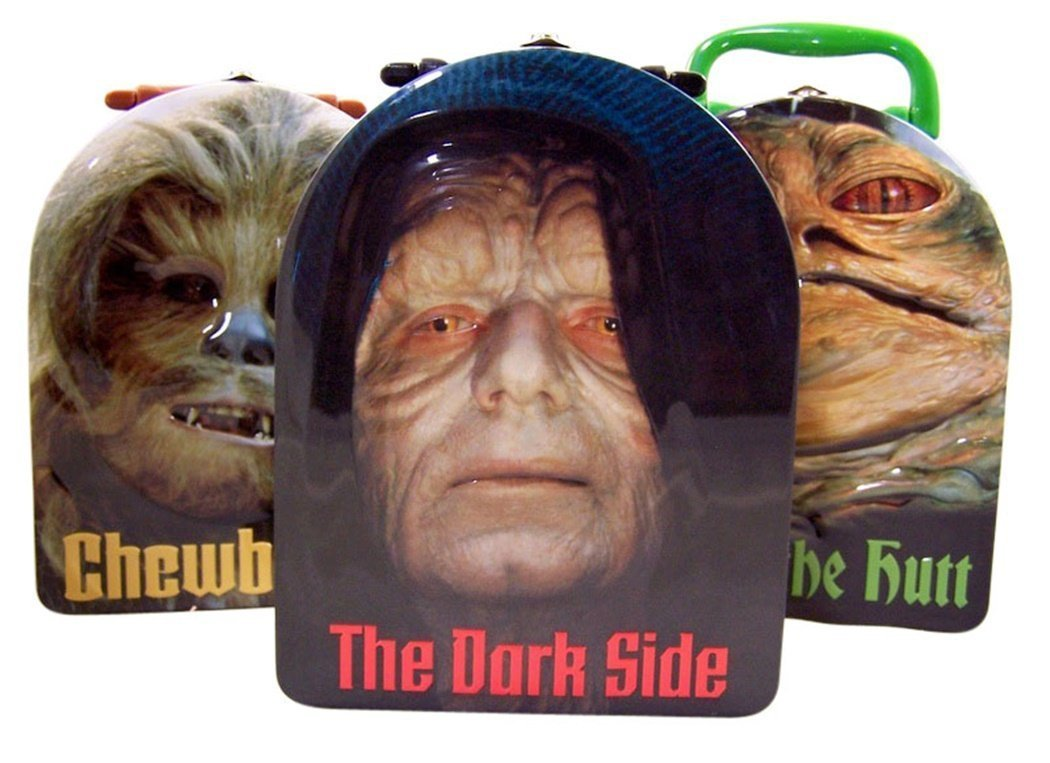 Star Wars Embossed Carry All Arch Tin with Handle, Set of 3
