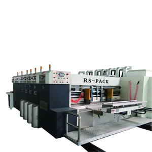 corrugated cardboard rotary die cutting machine automatic/card board flexo print machine/carton box printer slotter