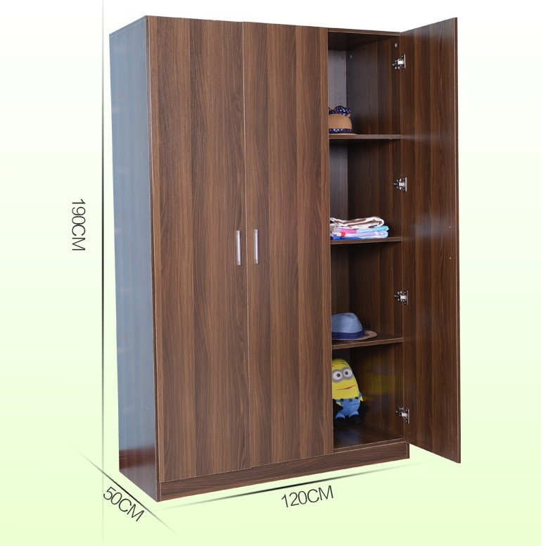 Emble Plastic Portable Wardrobe Closet Wooden Diy Custom Made
