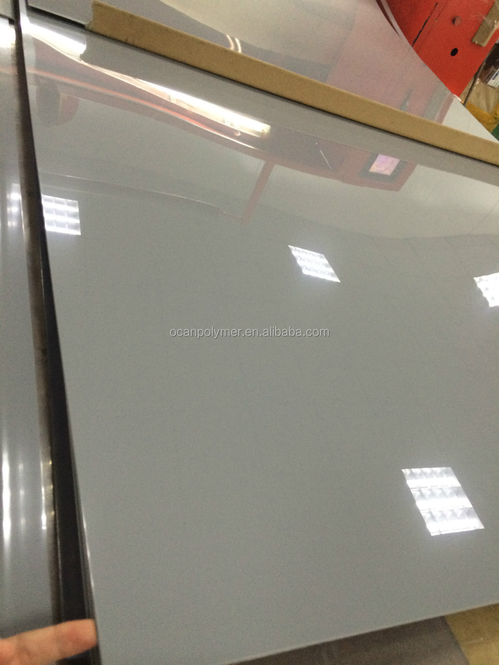 dark grey rigid Pvc sheet 4x8 for building construction