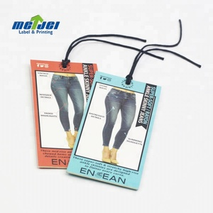 China factory wholesale cheap high quality paper clothing hang tag