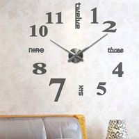 2017 Extra large wall clocks Foshan home decoration wall clocks