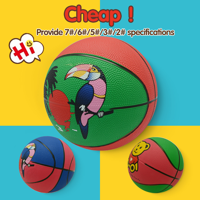 natural rubber basket ball, promotional mini basketball