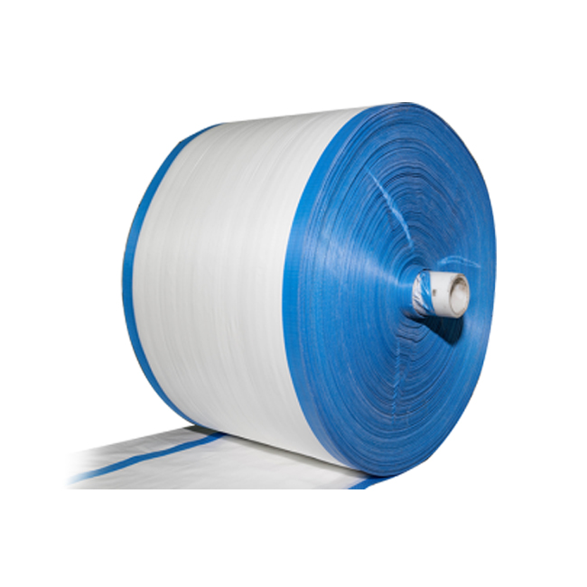 transparent various colors tube pp woven fabric/sheet/cloth in roll for bag by China supplier