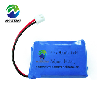 Li Ion 74V 900Mah Lipo Lithium Polymer Battery Pack
