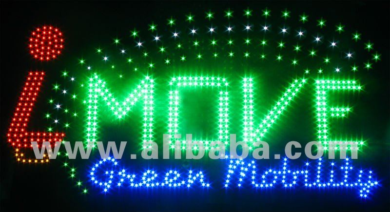 LED sign personalized customized company logo 1